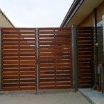 Gates Merbau (with steel frame) 1